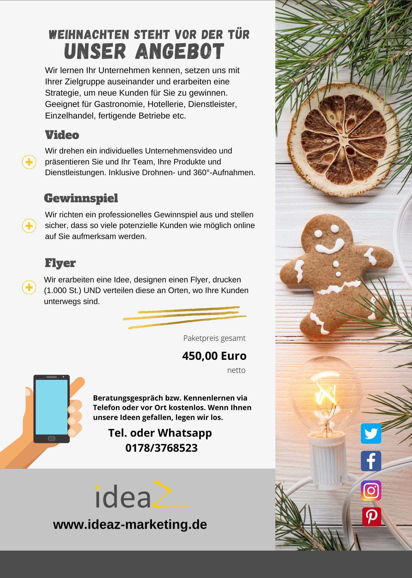 Corona Online Marketing Angebot für Unternehmen