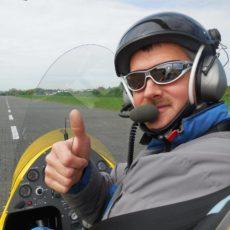 360° Kamera Aufnahmene des Piloten